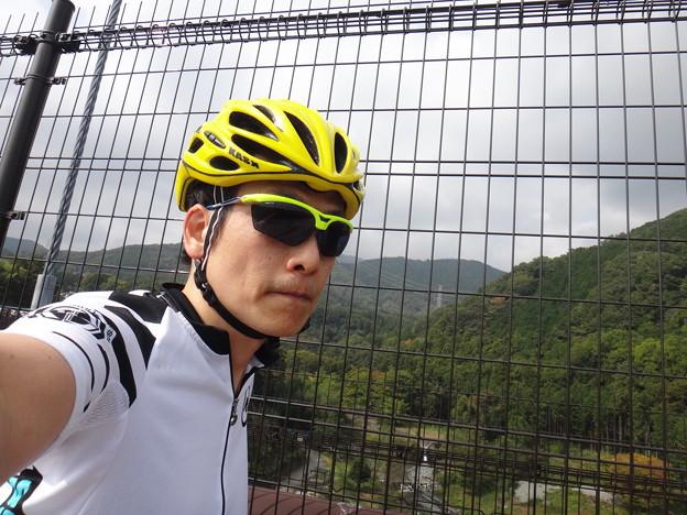 大倉の橋の上