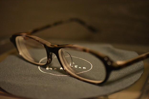 白山眼鏡買いました。