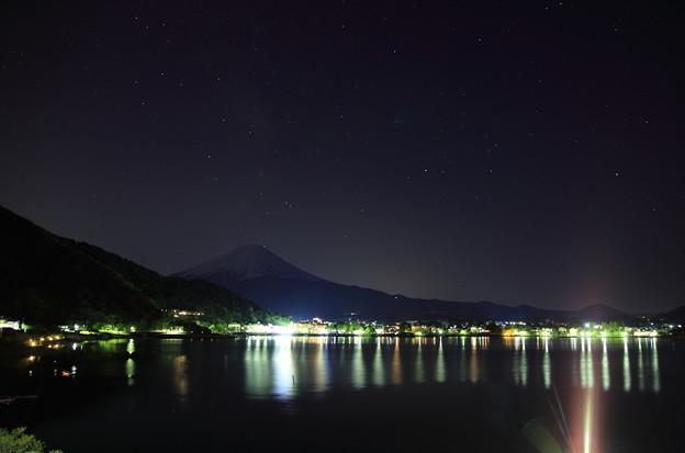 星降る夜 富士山?
