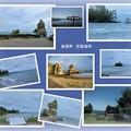 恋路海岸  奇岩と弁天島