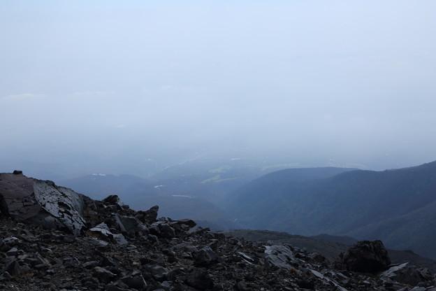茶臼岳 山頂から