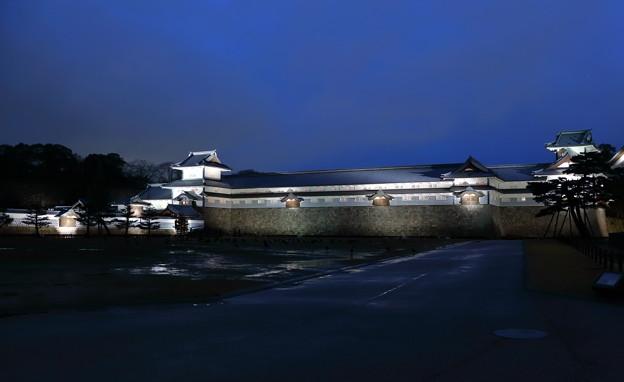 橋爪門と金沢城