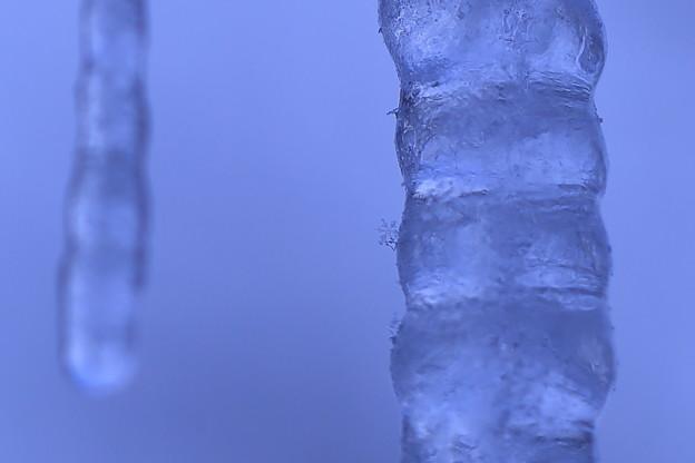 ツララ 雪の結晶