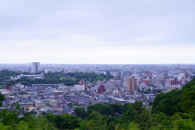 金沢市 卯辰山から街並み(1)