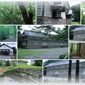 Photos: 金沢城 三十間長屋と鶴丸倉庫 本丸の森 極楽橋