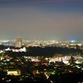 写真: 金沢市の夜景と街並み(5) 金沢城