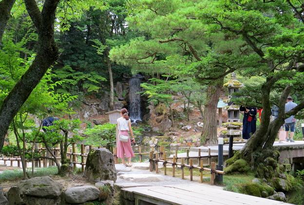 瓢池と翠滝