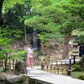 写真: 瓢池と翠滝