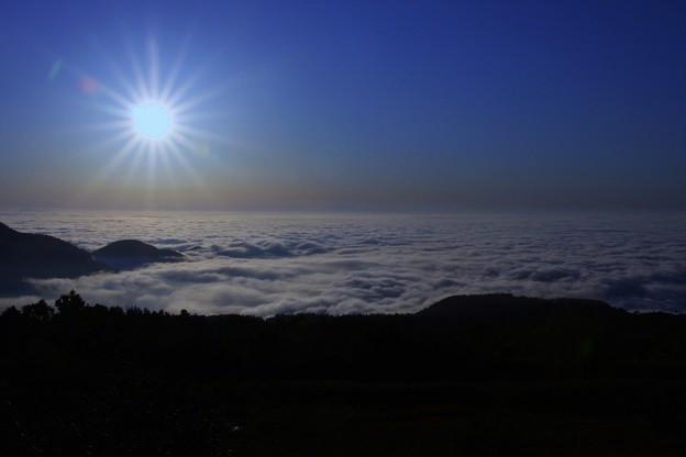 立山室堂から 雲海