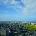 写真: 石川県庁 展望ロビーから