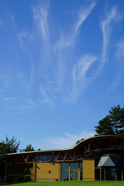 とんぼテラス  秋の雲