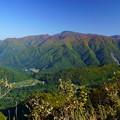 白川郷展望台から  山並み