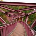 写真: 鶴仙渓(山中温泉) あやとり橋