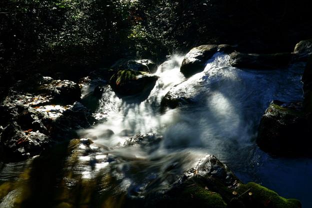 七つ滝 2の滝の上