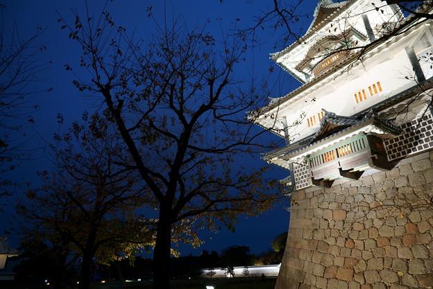 金沢城 ライトアップ 菱櫓