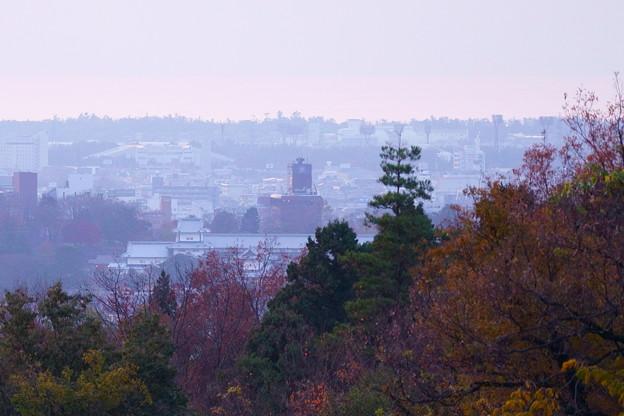 紅葉に包まれて  金沢城