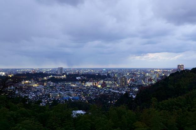 金沢市の夕景