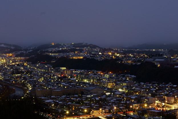 Photos: 金沢市の夜景 山側