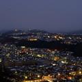 写真: 金沢市の夜景 山側