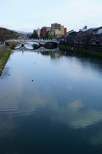 金沢 浅野川と浅野川大橋