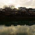 金沢 夕暮れの主計町茶屋街(2)