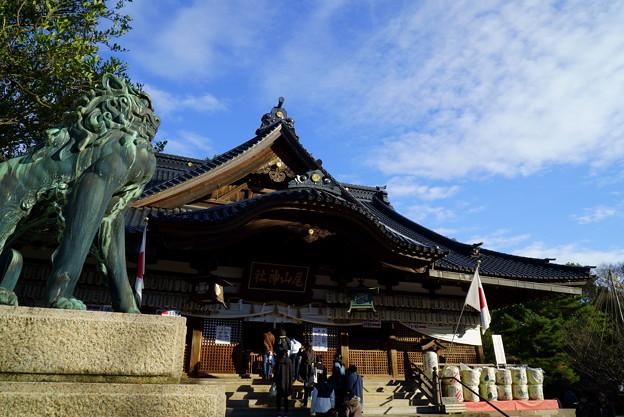尾山神社 狛犬