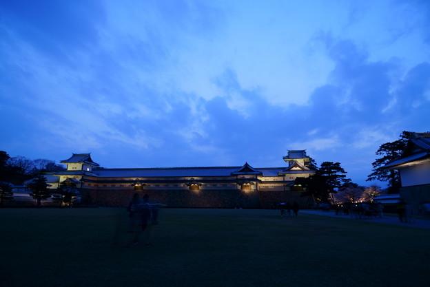 金沢城 ライトアップ
