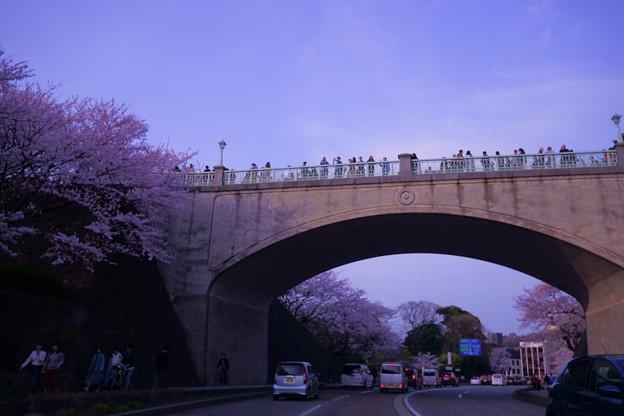 夕暮れの石川橋