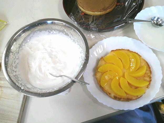 6年前にバースデーケーキをリハビリ(OT)で作成しました #誕生日
