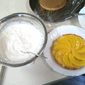 写真: 6年前にバースデーケーキをリハビリ(OT)で作成しました #誕生日