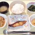 2月15日夕食(めだいの山椒焼き)
