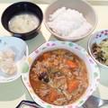 2月16日夕食(酢豚風) #病院食