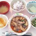 2月17日昼食(筑前煮) #病院食
