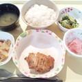 2月18日夕食(鶏肉の照り焼き) #病院食