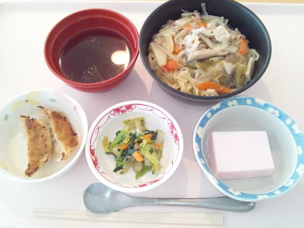 2月20日昼食(あんかけラーメン) #病院食