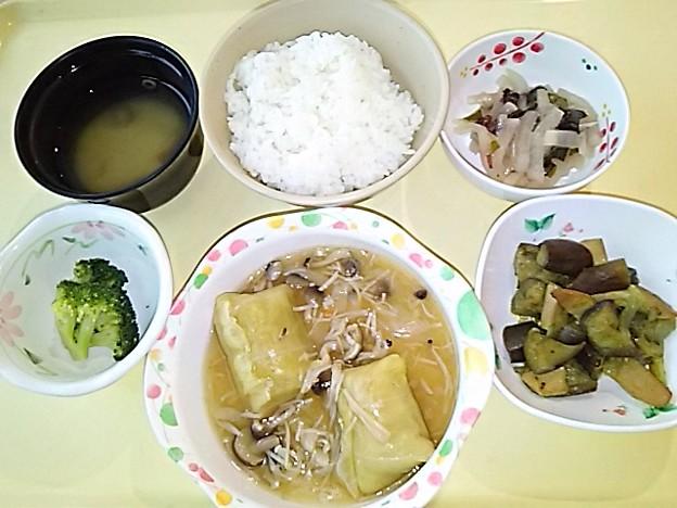 4月25日夕食(ロールキャベツ) #病院食