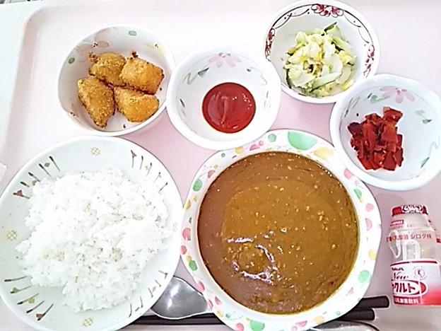 5月19日昼食(キーマカレー) #病院食