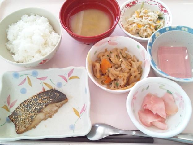 5月20日昼食(シルバーの胡麻焼き) #病院食