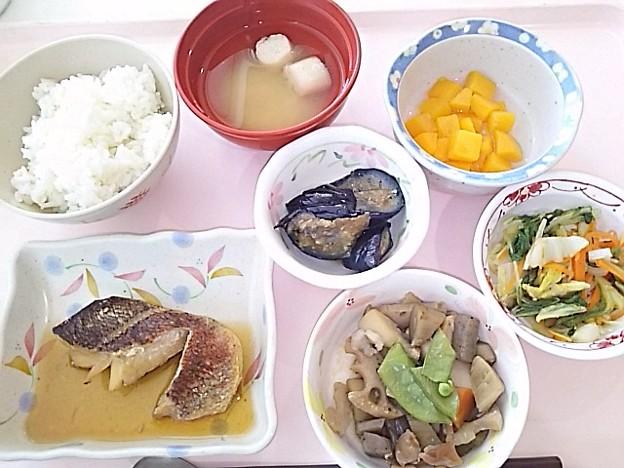 5月22日昼食(めばるの煮付け) #病院食