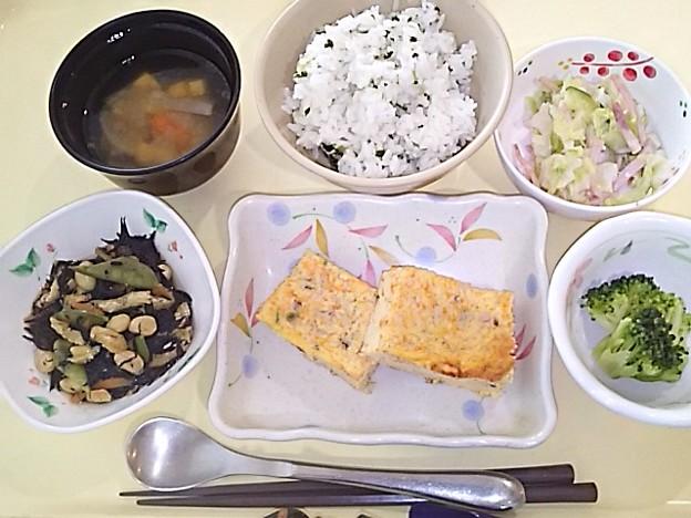 5月27日夕食(千草焼き) #病院食