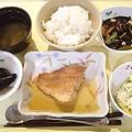 6月15日夕食(赤魚の煮付け) #病院食