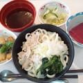 6月15日昼食(黒豚みぞれうどん) #病院食