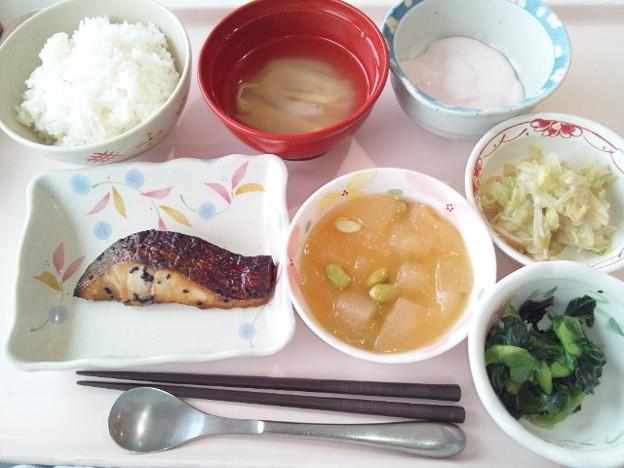 9月21日昼食(めだいの南部焼き) #病院食