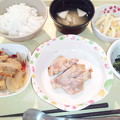 10月14日夕食(鶏肉の塩麹焼き) #病院食