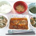 10月16日昼食(カレイの野菜あんかけ) #病院食