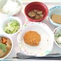 10月19日昼食(メンチカツ) #病院食