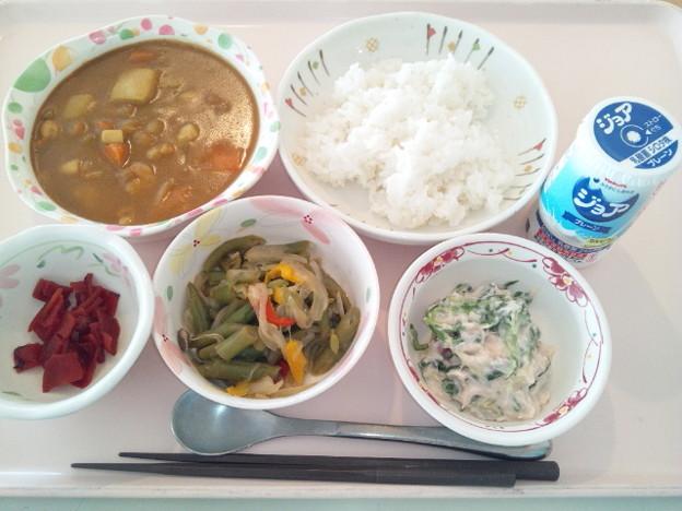 11月16日昼食(シーフードカレー) #病院食