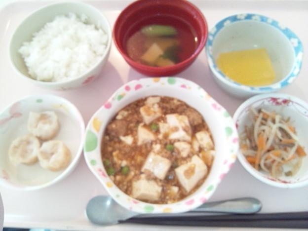 11月17日昼食(麻婆豆腐) #病院食