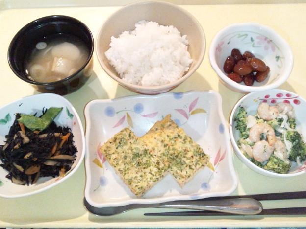 12月13日夕食(千草焼き) #病院食