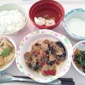 12月15日昼食(豚肉の味噌炒め) #病院食